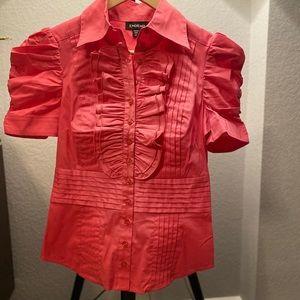 Bebe button down shirt
